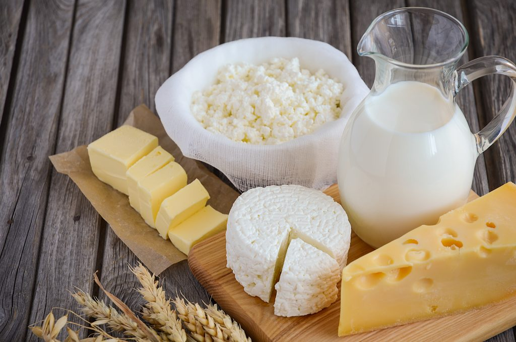 dairy products for good oral health