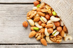 Nuts are great at managing blood sugar levels.