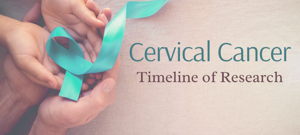 Cervical cancer -a timeline of research