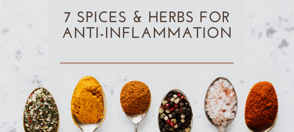 Spices & Herbs With Anti-Inflammatory Properties