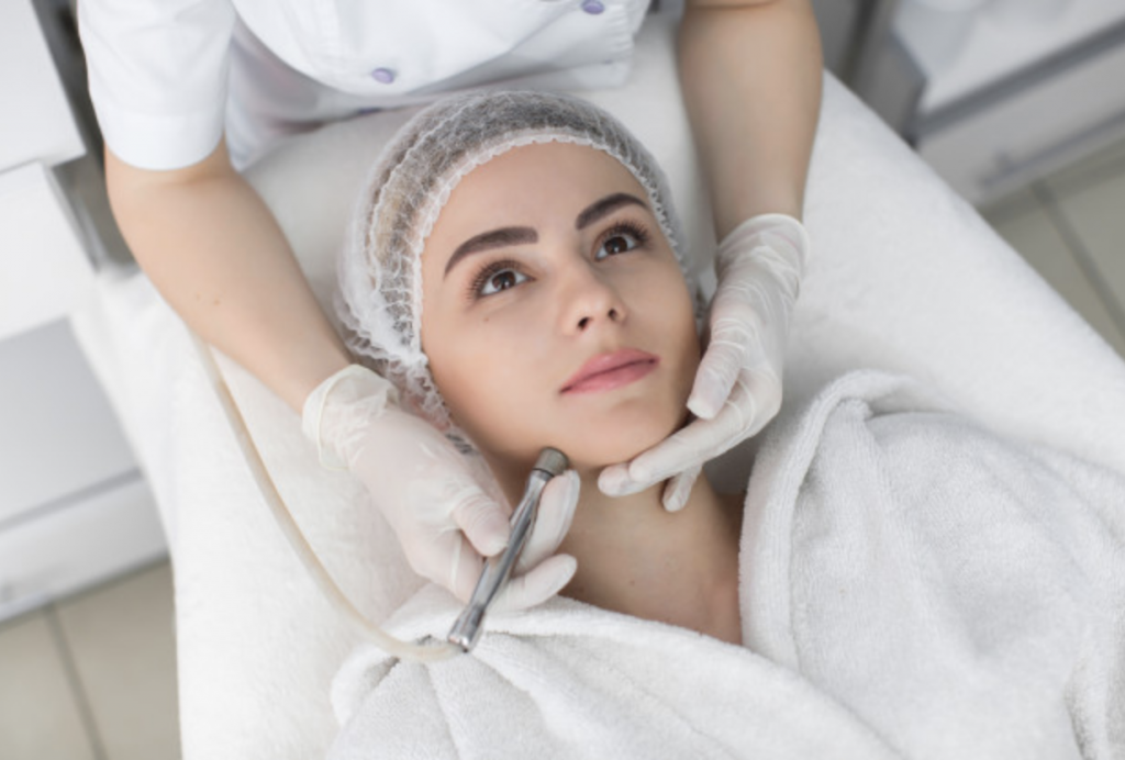 Microdermabrasion Procedure To Treat Hyperpigmentation