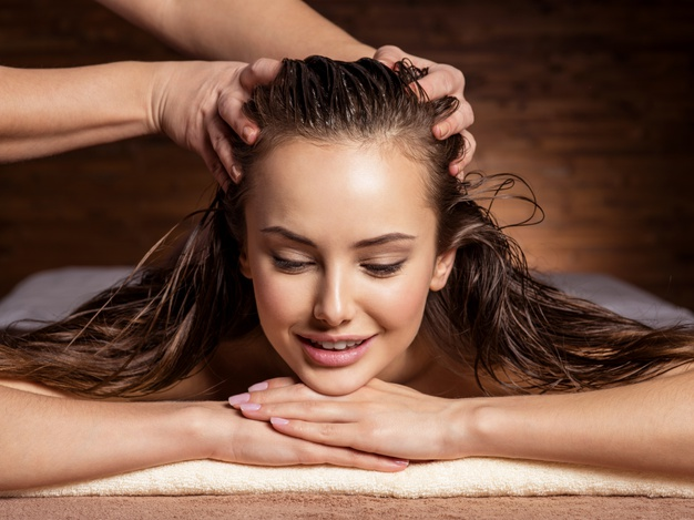 Massaging the scalp with oil increases the thickness of the hair and enhances the circulation of the blood that can cause hair growth