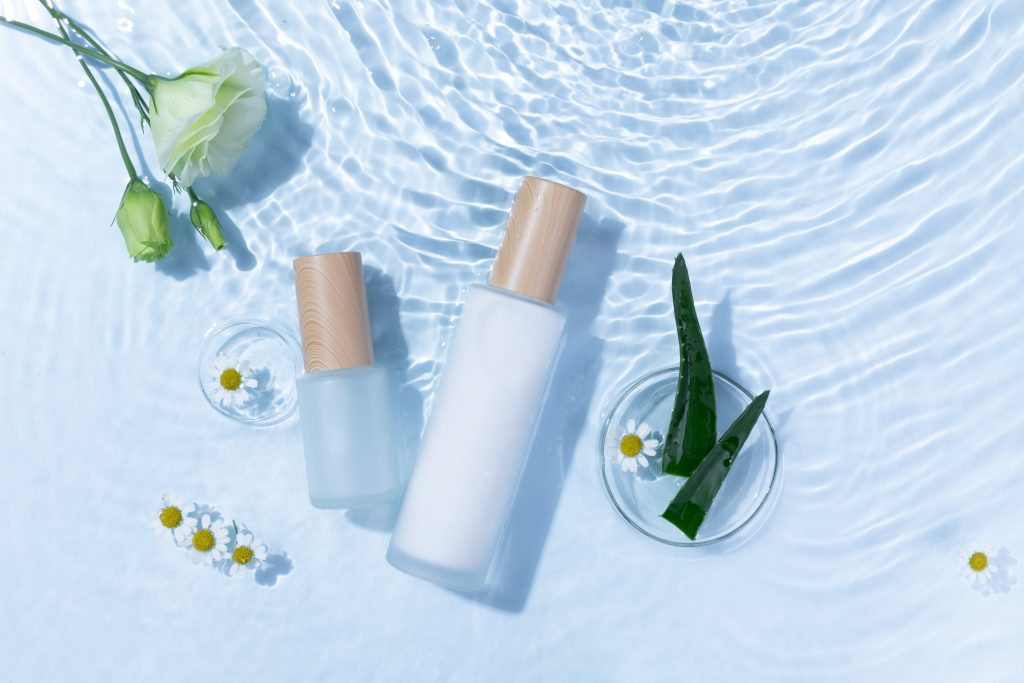 Hydrating face serums