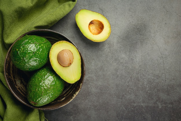 Avocado is an ideal fruit for glowing skin