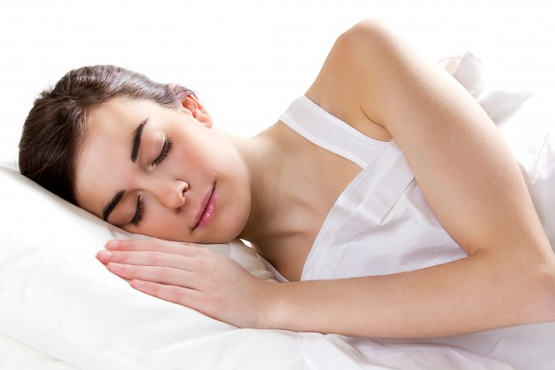 The idea behind this tip is that by sleeping, you allow your body to relax and heal.