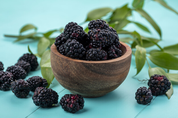 Blackberries also help to balance out your skin tone and provide you with glowing skin